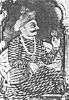 Tippu Sultan –  a Mysore style painting