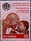 Gandhi and Child
