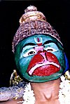 Man Dressed as Hanuman