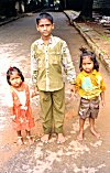 Elder Brother Babists his Younger Siblings