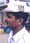 A western hat for a traffic policeman.
