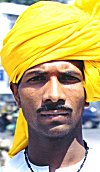 Man in Yellow Turban (Peta)