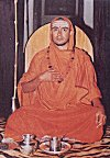 Picture of a Hindu Pontiff