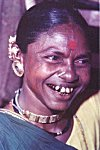 Tribal Woman with Piercings