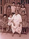 A Konkani Lady with Grandchildren