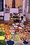 Fruit Offerings for Lord Krishna