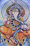 Lord Ganesh in Indian Art