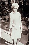 Picture of a Newly Ordained Brahmin Boy (Vatu)