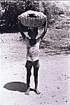 Boy Carrying a Load on his Head