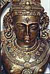 Mixed Metallic Icon of Vishnu