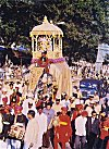 Parade of the Mysore Golden Howdah