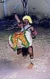 Dollu (drums) Dancer from Shimoga