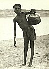 Fetching water from the Ganges River