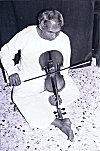 B. G. L. Swamy Playing  Violin