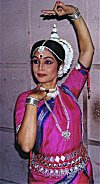 An Odissi Dancer