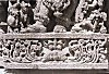 Letterings Below a Hoysala Sculpture