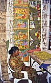 A Woman Artist in her Shop