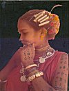 Tattoo and Decoration of a Tribal Woman