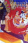 Krishna-Radha, North Indian Painting