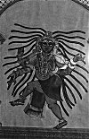 Lord Shiva Performing His Cosmic Dance of Destruction