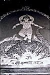 Krishna Dances on the Hood of a Serpent