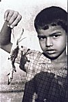 Boy with Crab