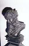 Metallic Model of  a Tribal Woman