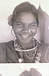 Nose and Neck Ornaments of a Tribal Woman