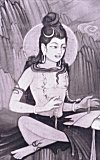 Portrait of Lord Shiva