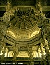 The Carved Interior of a Jain Temple<br>Ranakpur, Rajasthan