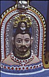 Deity of Mangeshi temple Goa