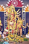 Idol of Goddess Durga