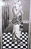Painting of Hanuman from a Temple Wall