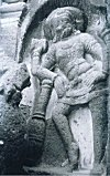 Shiva with a Mace