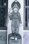 Mural of a Doorkeeper at a Temple