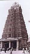South Indian Temple Tower