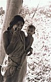 Tribal Woman with Child