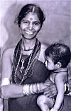 Halakki Woman with Child