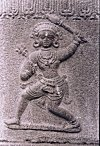 Warrior Depicted in a Hero-stone