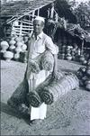 Man with Coir Ropes