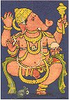 Ganesh, from a Painting