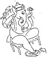 Line Drawing by K.L. Kamat