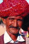 Man in Bandani Turban