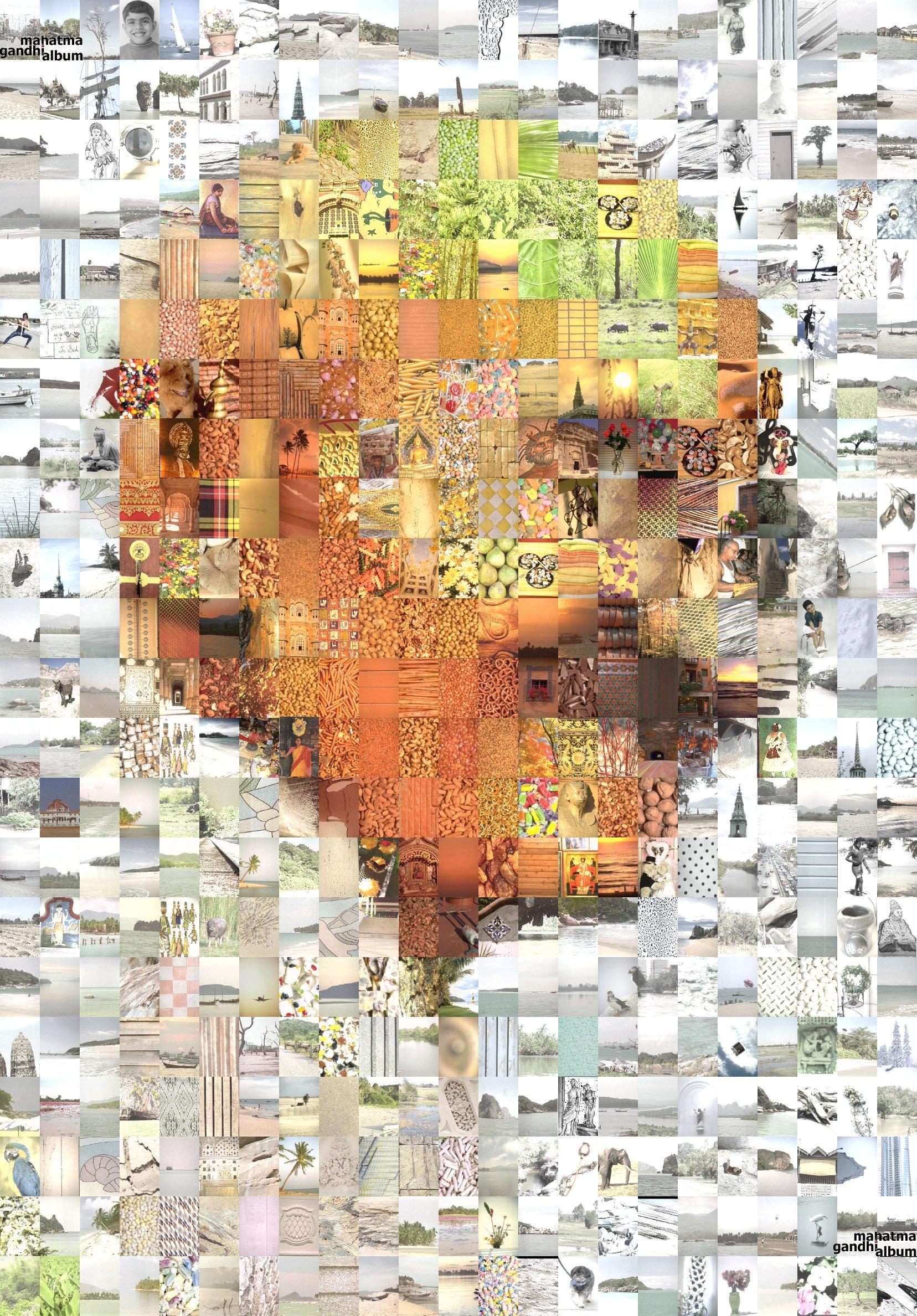 Mahatma Gandhi Photo Quilt