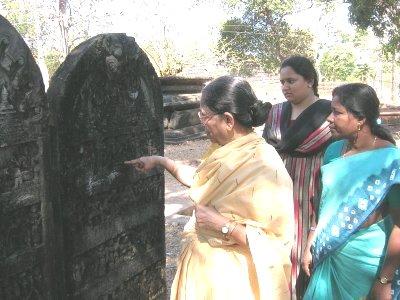 Jyotsna Interprets an Inscription