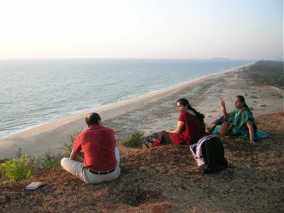 View from Apsarakonda  Hill