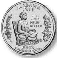 Helen Keller Quarter