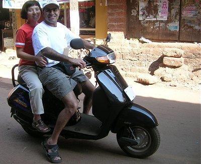 The Kinetic-Honda