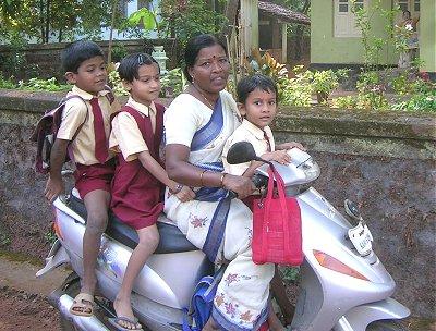 Joy Ride to School